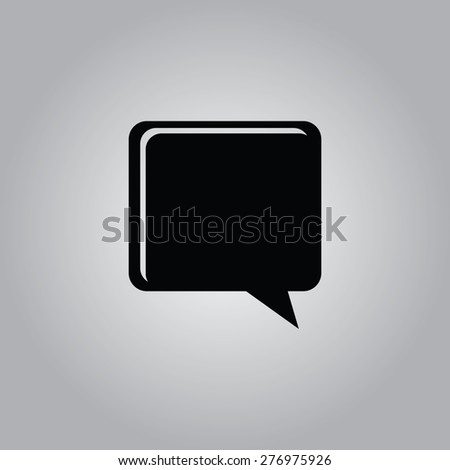 Comments Icon. - stock vector