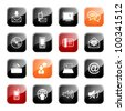 Communication - professional icons for your website, application, or presentation,eps10 - stock photo