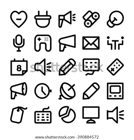 Communication Vector Icons 11