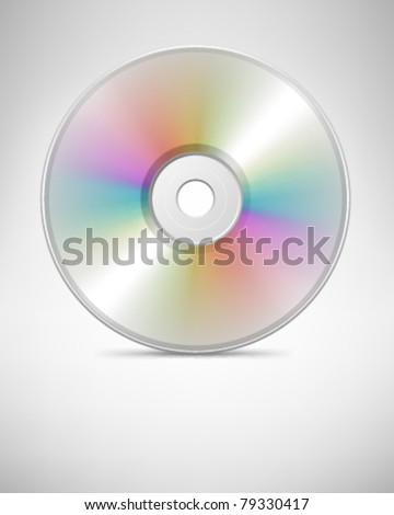 Compact disc vector background. Eps 10 - stock vector
