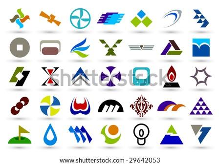 Company icon. such logos - stock vector