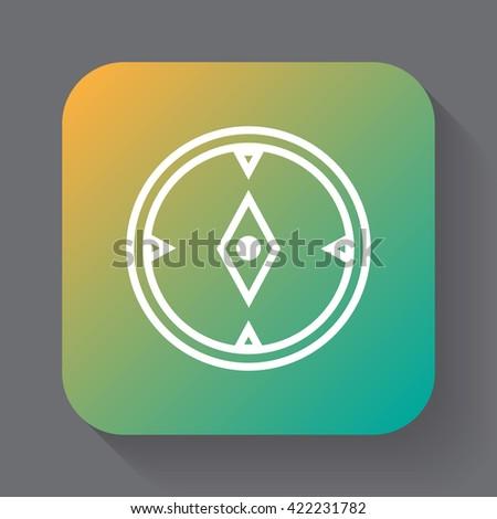 compass icon, compass icon vector,compass, compass flat icon, compass icon eps, compass icon jpg, compass icon path, compass icon flat, compass icon app, compass icon web, compass icon art, compass - stock vector