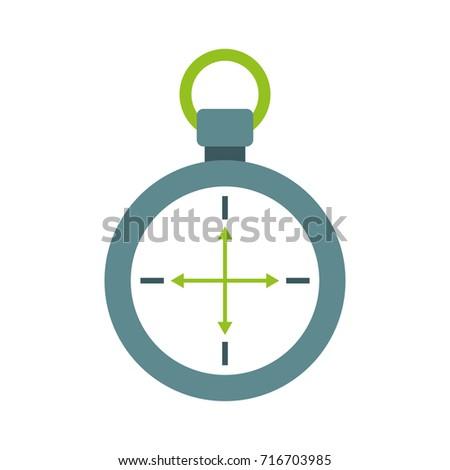 Compass Symbol Tourism Adventure Travel Camping Stock Vector 2018