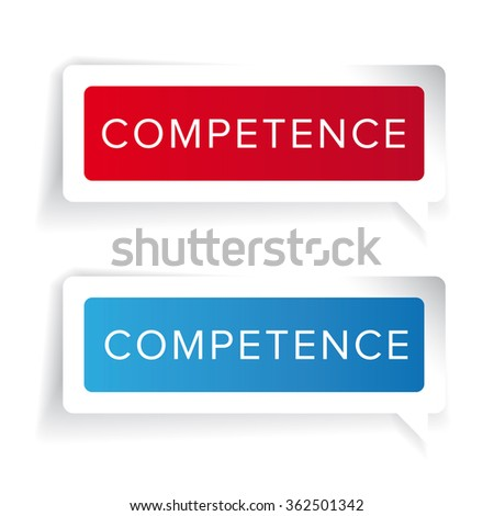 Competence concept label vector