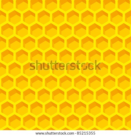 Completely seamless honeycomb pattern