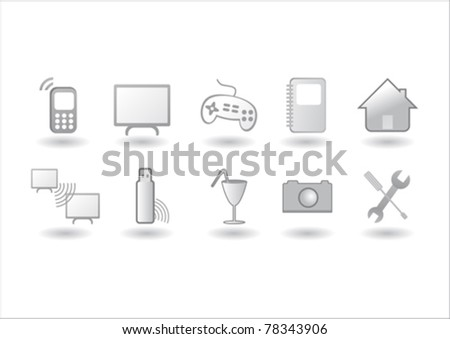 Computer Generation - stock vector