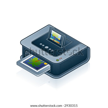 Computer Hardware Icons Set - Design Elements 55o03, it's specially designed with a web designers in mind to achieve PIN SHARP ICONS ON A SCREEN - stock vector