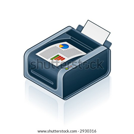 Computer Hardware Icons Set - Design Elements 55o01, it's specially designed with a web designers in mind to achieve PIN SHARP ICONS ON A SCREEN - stock vector