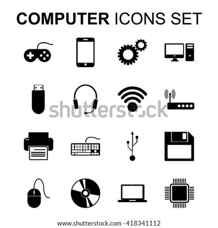 Simplus Series Icon Set Network Mobile Stock Vector ...  Simplus Series ...