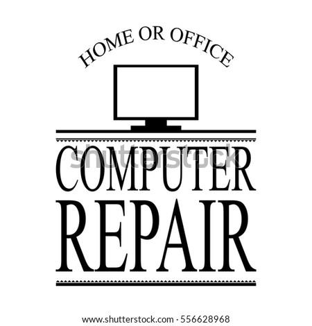 computer repair ad