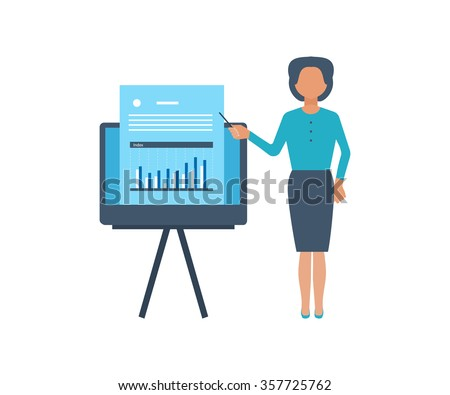 Concept for investment, strategy planning, finance, market data analytics, strategic management. Online training courses for investment. Investment growth. Strategy business. E-learning. - stock vector