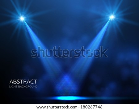 concert light background - stock vector