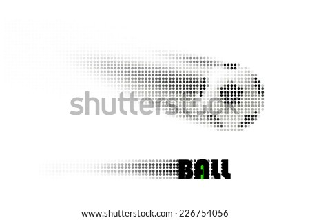 concise visual display  ideas of dynamic move, in vector - stock vector