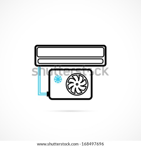 Conditioning Icon - stock vector