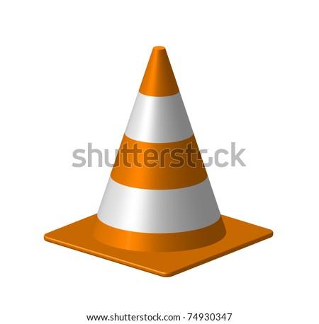 Cone - stock vector