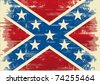 Confederate flag. A background for a poster - stock photo