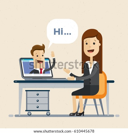 online interview video
