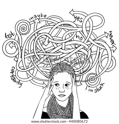 https://thumb9.shutterstock.com/display_pic_with_logo/590176/440080672/stock-vector-confused-decision-making-girl-black-and-white-ink-illustration-440080672.jpg