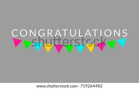 congratulations sign