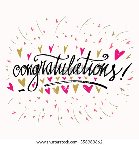Congratulations Stock Images, Royalty-Free Images & Vectors | Shutterstock