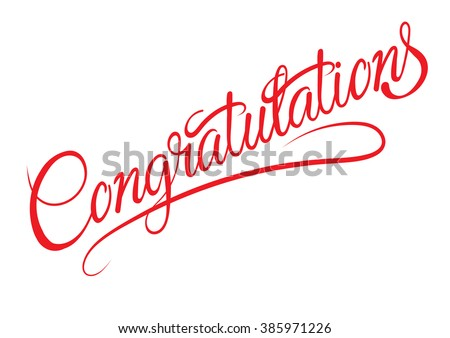 Congratulations,congratulations banner,congratulations card,congratulations business,congratulations text,congratulations letter,congratulations vector,congratulations word,calligraphy fonts - stock vector