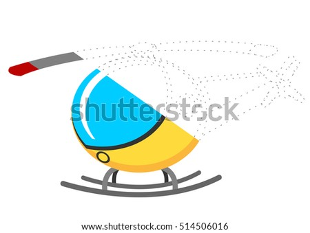 Connecting Dots and Coloring Helicopter