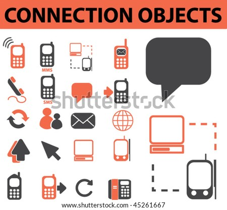 connection objects. vector