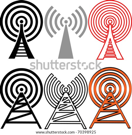 Connection Signs - stock vector