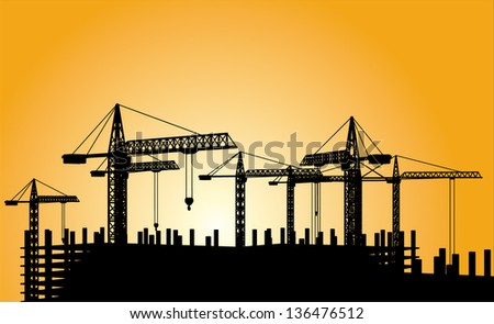 construction - stock vector