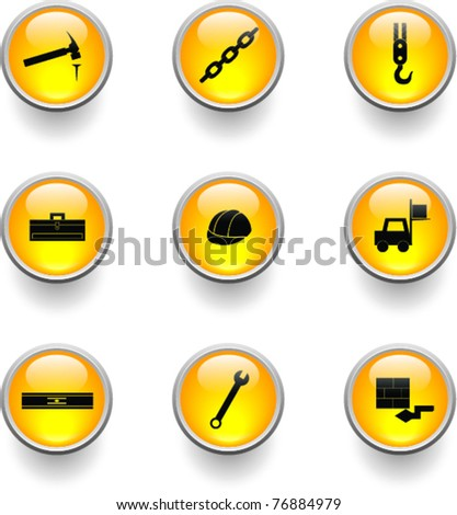 construction buttons