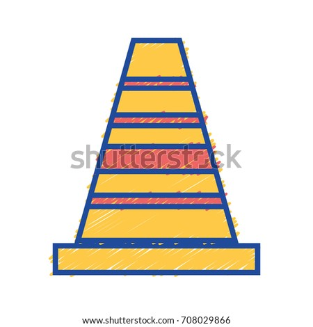construction cone to industrial service repair