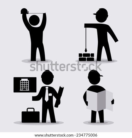 construction design , vector illustration
