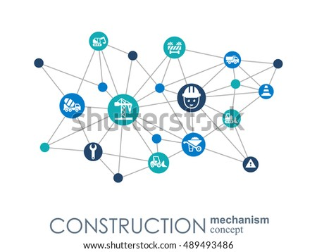 Seo Mechanism Concept Abstract Background Integrated Stock