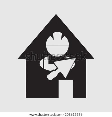 Construction Worker - stock vector