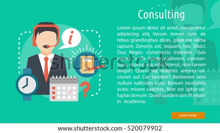 Consulting Conceptual Banner