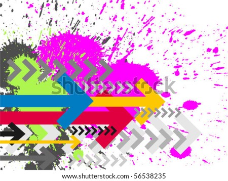 Contemporary Art abstract grunge background