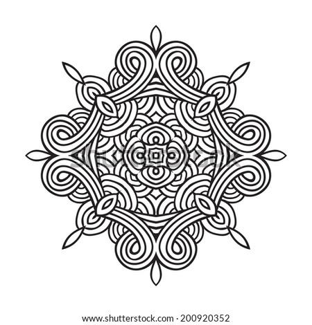 traditional maori taniwha tattoo design editable stock vector 299954873 shutterstock. Black Bedroom Furniture Sets. Home Design Ideas