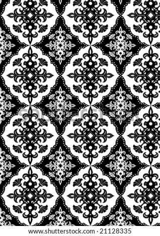 Continuous ornate pattern