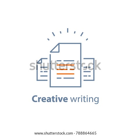 Contract Terms Conditions Document Paper Creative Stock Vector Hd