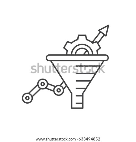 Blue Funnel Line Magnifying Glass