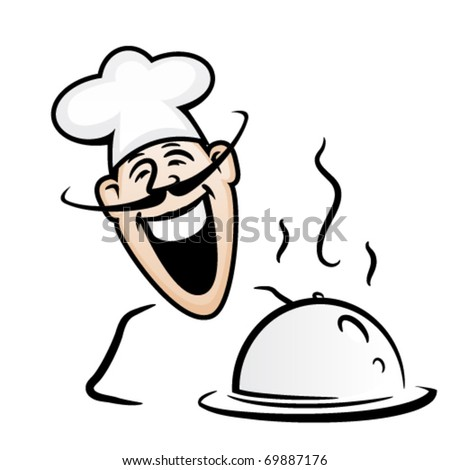 Cook - stock vector