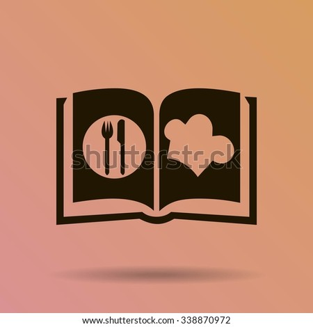 cook book - stock vector