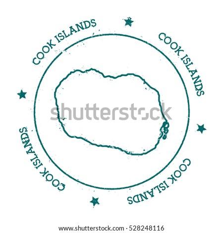 Cook Islands Map Stock Images RoyaltyFree Images Vectors - Cook islands map