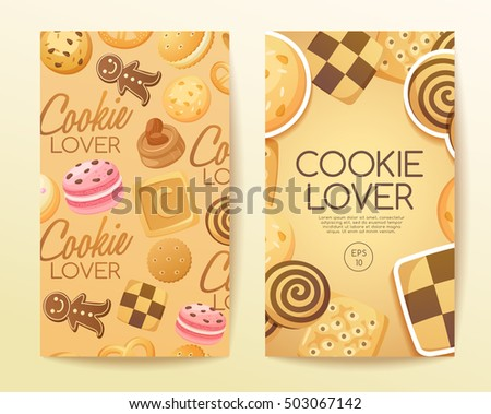 Cookie Lover Elements : Vector Illustration