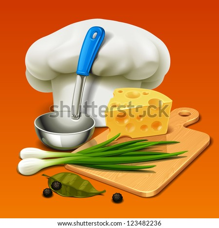 cooking icon - stock vector