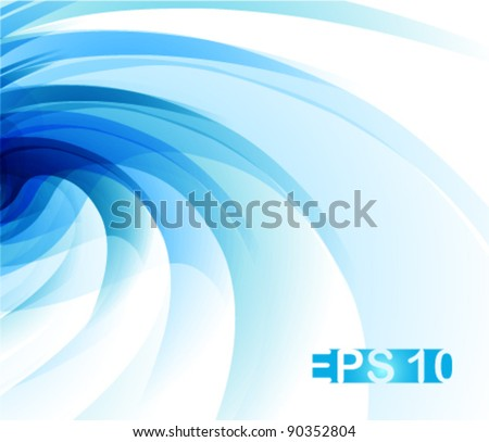 cool abstract wavy background for your business concept designs - stock vector