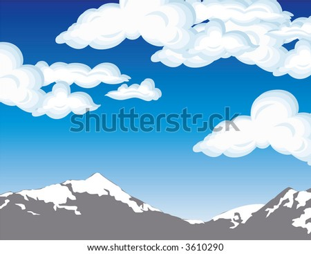 cool background - stock vector