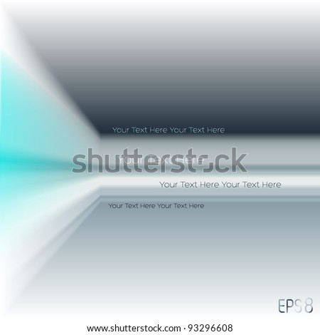 cool perspective background (Eps-8 No transparency) - stock vector