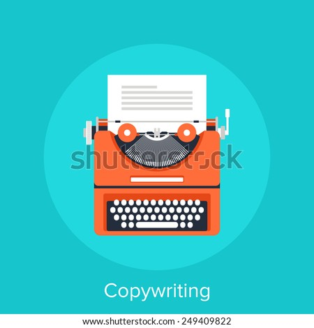 Copywriting - stock vector
