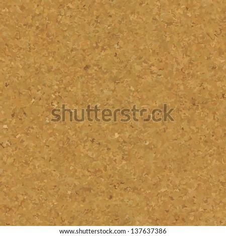 Cork Board Texture, Vector Illustration - stock vector